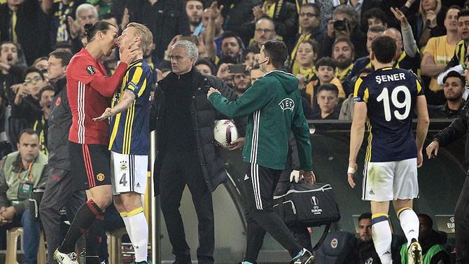 'Ibrahimovic, UEFA'dan ceza alabilir'