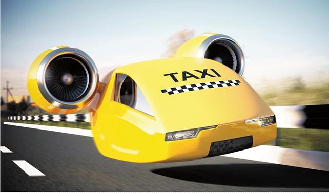 2021'de uçan taksilere bineceğiz