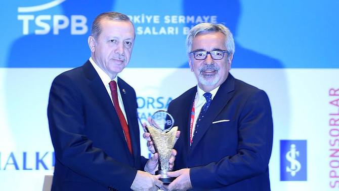 Başkent Elektrik Dağıtım AŞ'ye tahvil ödülü