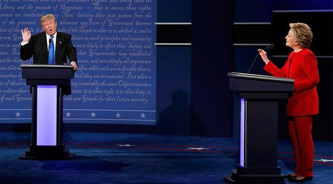 Seçime iki gün kaldı: Clinton tekrar önde
