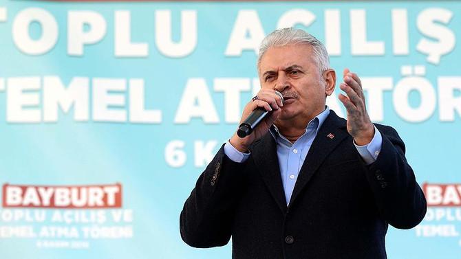 Başbakan'dan HDP'ye: Yol yakınken bu karardan dönün