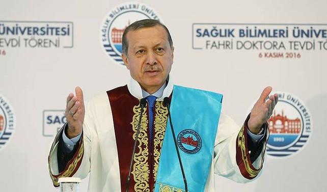 Erdoğan: Amaçları Türkiye'yi sıkıntıya sokmak