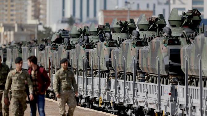Sınıra zırhlı araç takviyesi
