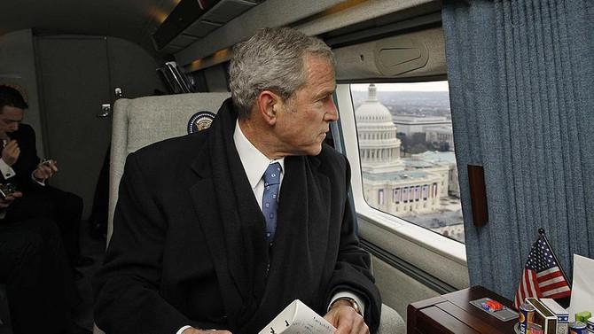 Bush, Trump'a oy vermedi