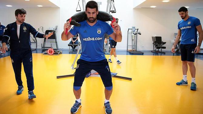 Fenerbahçe'de çift antrenman