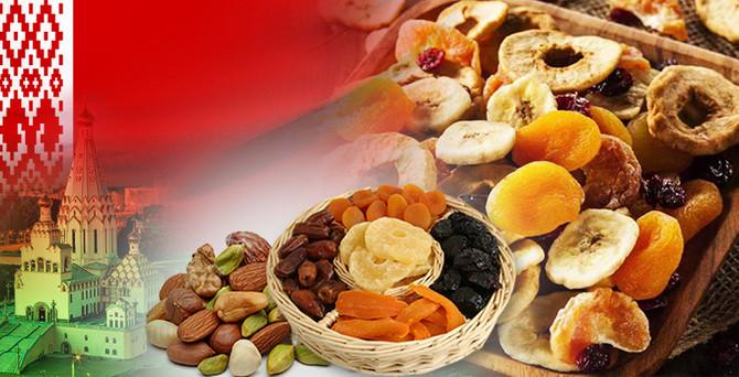 Beyaz Rusya'dan kuruyemiş ve kuru meyveye talebi