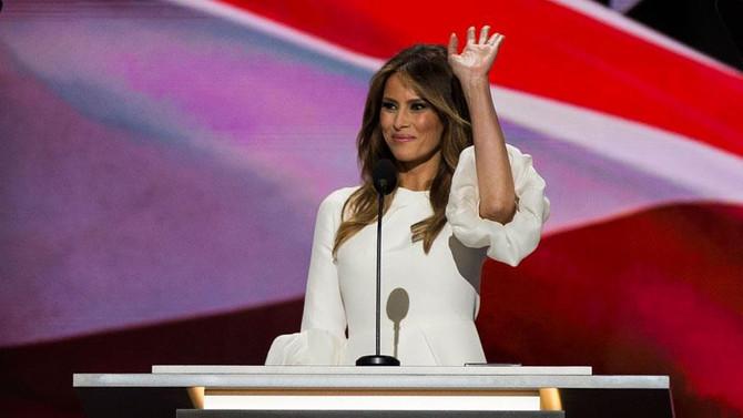 'Yeşil Kart'lı First Lady Melania Trump