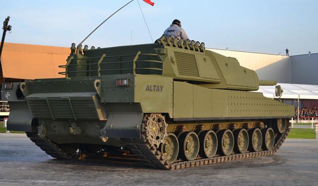 Koç: Altay tankının seri üretimine hazırız