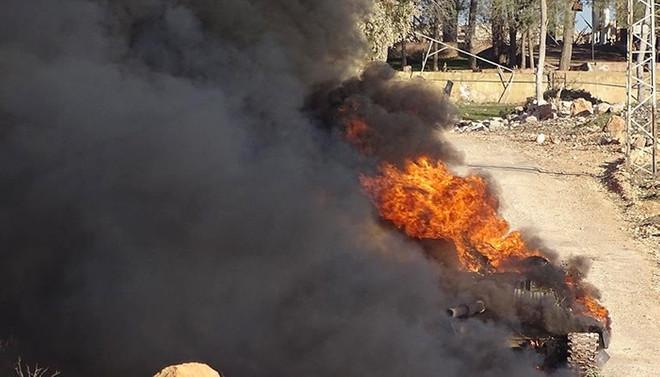 İsrail, Suriye ordusunu vurdu