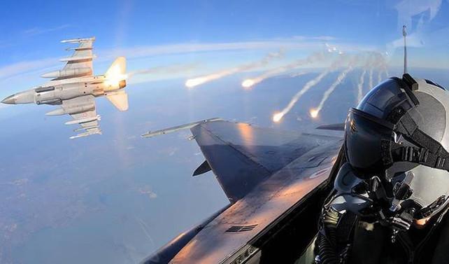 Irak'ın kuzeyinde 4 hedef imha edildi