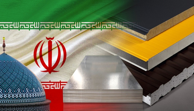 İranlı panel üreticisi Türkiye'den sac ithal edecek