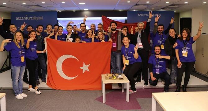 Türkiye digital girişimciler yarışında bir numara