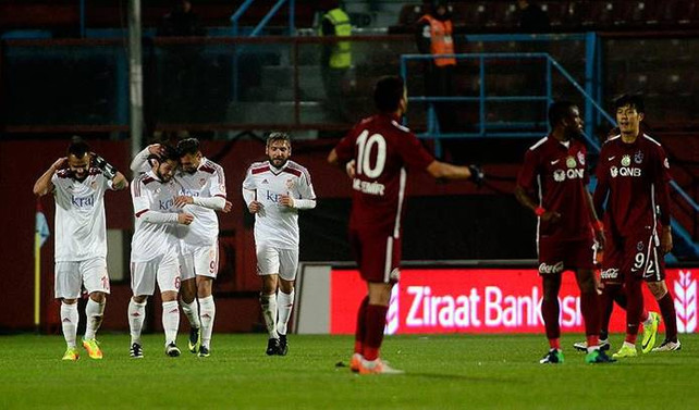 Trabzonspor kupaya kötü başladı