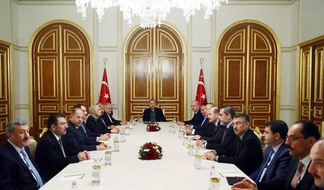 İstanbul'da güvenlik toplantısı yapıldı