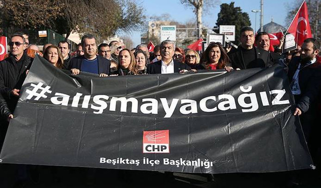 'Teröre karşı verilecek mücadelede iktidarın yanındayız'