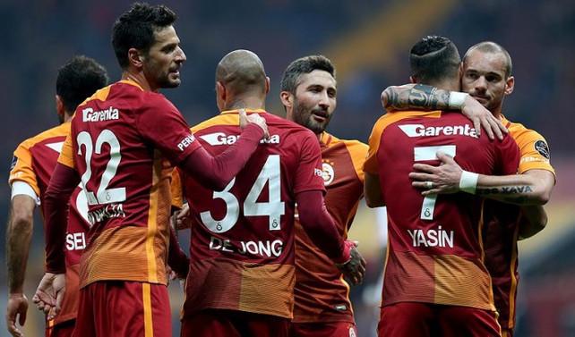 Galatasaray çıkışını sürdürdü