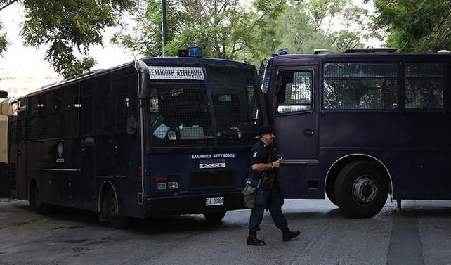 Atina'da Çalışma Bakanlığına bomba bırakıldı