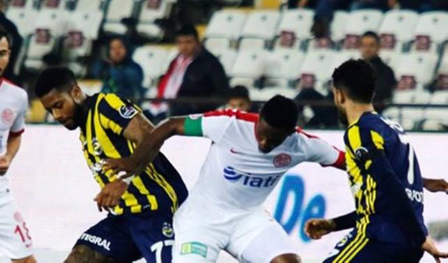 Fenerbahçe Antalya'da kaybetti
