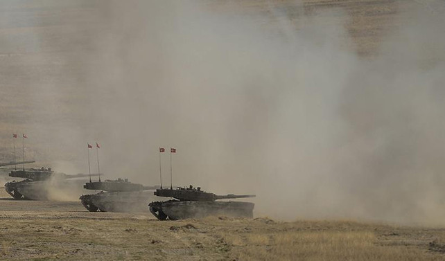 'DEAŞ'a ait 157 hedef imha edildi'