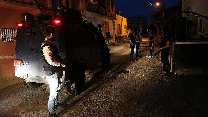 28 ilde terör operasyonu: 568 kişi gözaltında