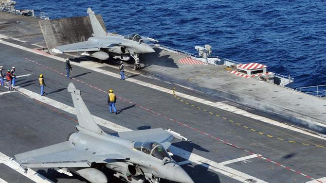 Fransa uçak gemisini Doğu Akdeniz'den çekti