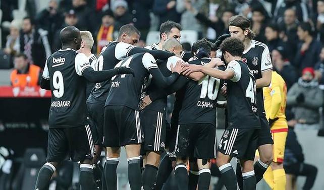 Beşiktaş kupada 3 puanı aldı