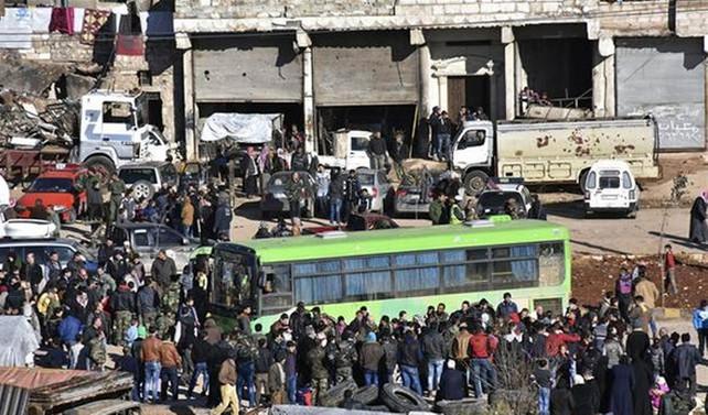 3 konvoy daha İdlib'e ulaştı