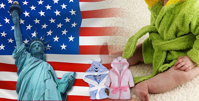 Amerikalı firma bebek bornozu toptan ithal edecek