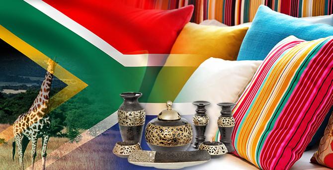 Türk malı ev dekor ürünleri Güney Afrika'dan isteniyor