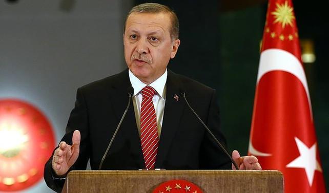Erdoğan: Kararlılıkla mücadele edeceğiz