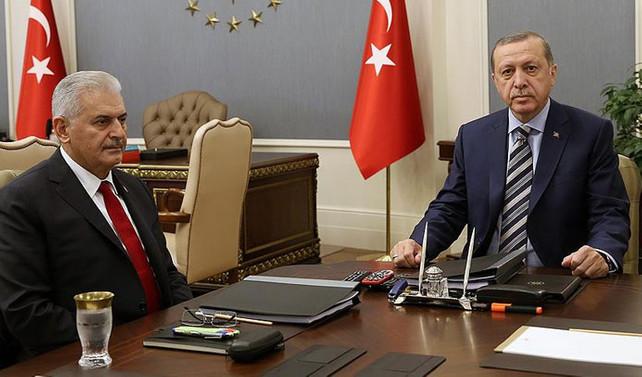 Erdoğan ve Yıldırım saldırıyı görüştü