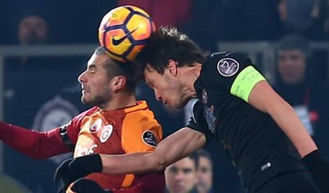 Galatasaray Ankara'da 2 puan bıraktı