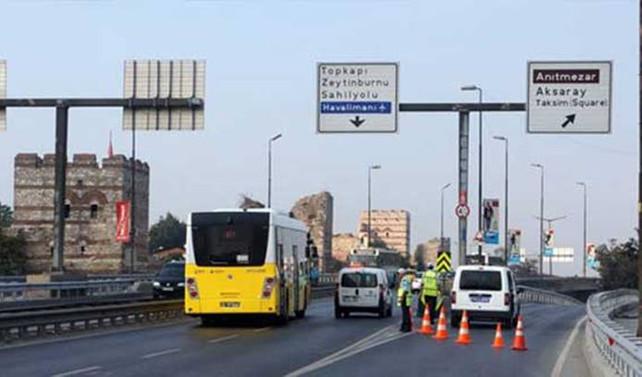 İstanbul'da yarın bazı yollar kapalı
