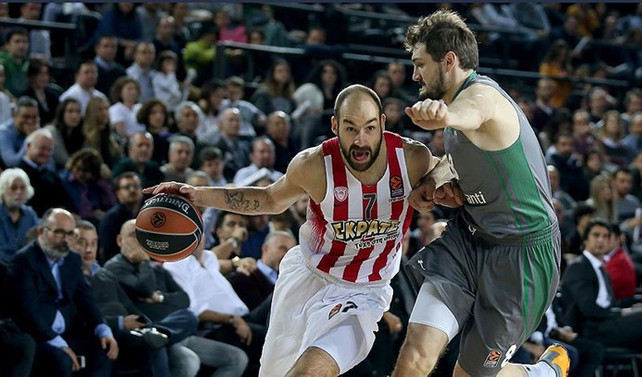 Darüşşafaka Olympiakos'a mağlup