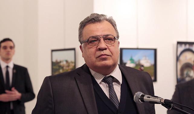 Rus Büyükelçi'ye suikast