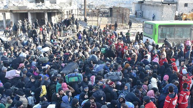 Halep'ten tahliyeler yarın bitiyor