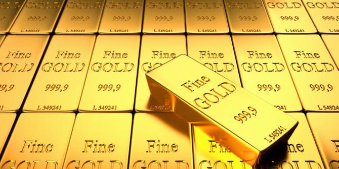 Altın rezervi 28,8 ton azaldı