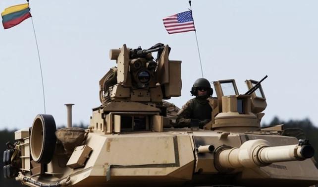ABD tankları Avrupa'ya tekrar konuşlanıyor