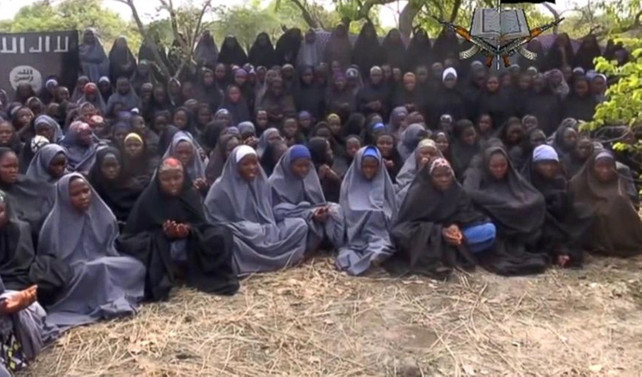 21 kız çocuk Boko Haram'dan kurtuldu