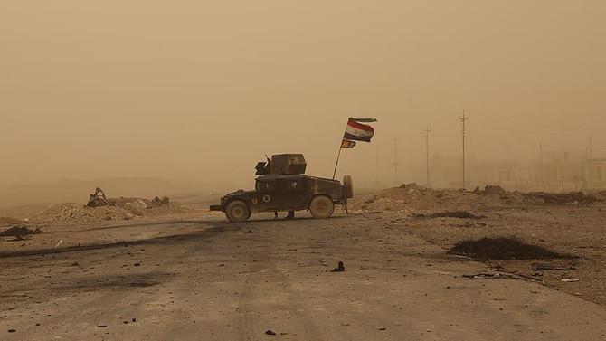 Irak ordusu 4 yerde kontrolü sağladı