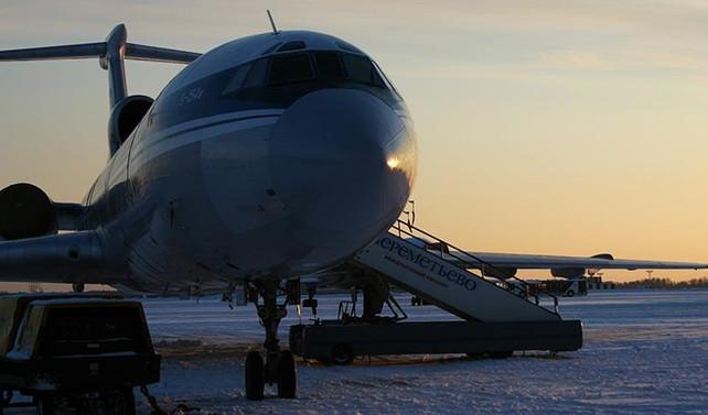 Rus uçağı Karadeniz üzerinde düştü