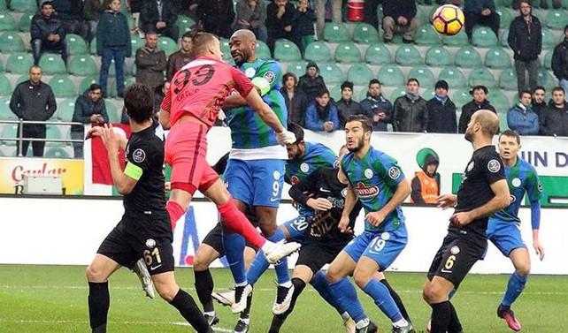 Osmanlıspor penaltıdan bulduğu golle güldü
