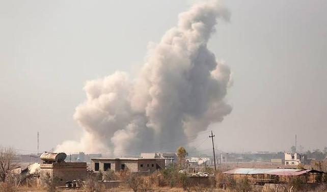 Musul'da halk pazarı vuruldu: 20 ölü