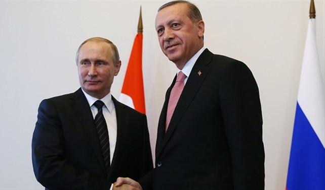 Erdoğan ile Putin Suriye krizini görüştü