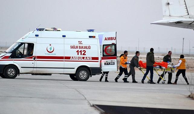 Halep'ten tahliye edilen yaralı sayısı 246'ya ulaştı