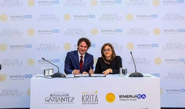 Enerjisa, 3.6 milyon dolarla Gaziantep'i 'akıllandıracak'