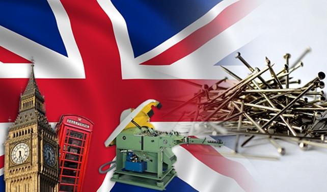 İngiliz firma çivi imalat makineleriyle ilgileniyor