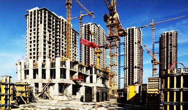 İnşaatın milli gelirdeki payı yüzde 8'i geçti