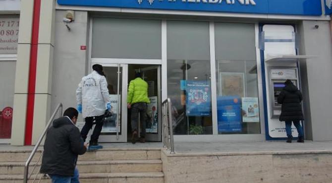 Başakşehir'de banka soygunu
