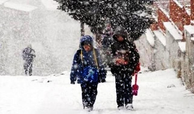 Ankara ve 17  ilde kar tatili